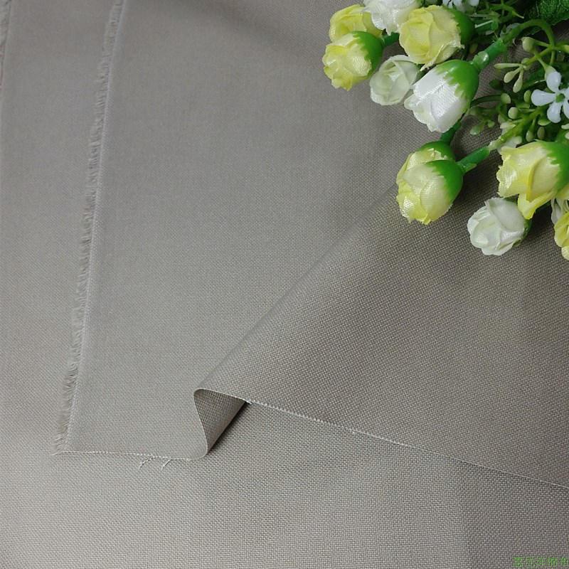 布料新款超厚棉布服装沙发纯棉帆布风衣面料纯色布手工DIY窗帘套