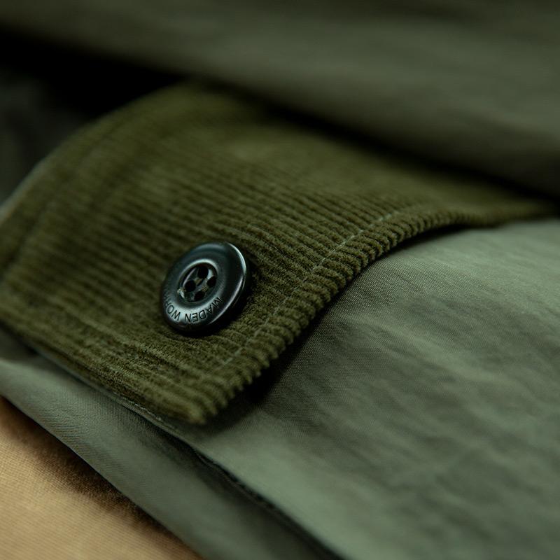 长款风衣战壕大衣军绿色马术外套男 美式复古二战保暖  马登坤装 M59