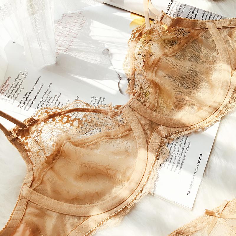 舒适透气性感大码胖mm上托超薄胸罩
