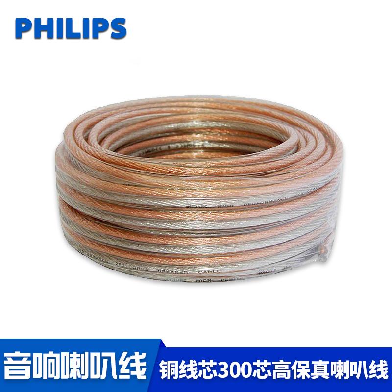 Philips/飛利浦 SWA6361喇叭線 音箱環繞線 純銅300芯家裝工程線