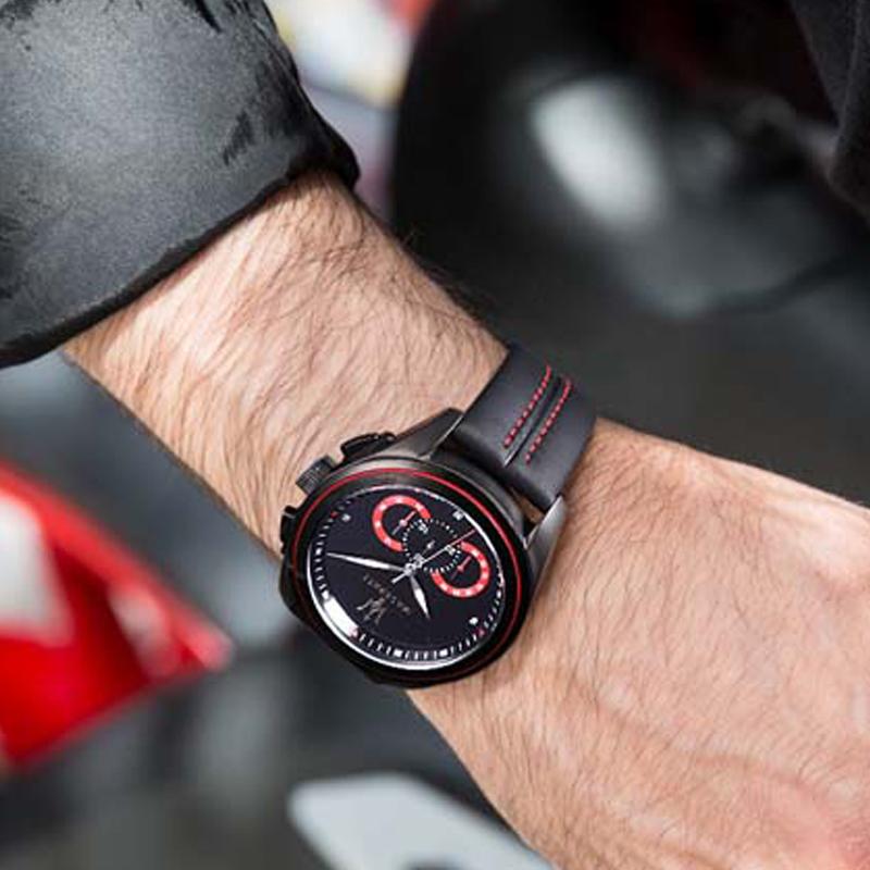 Maserati玛莎拉蒂手表男时尚休闲石英男表欧美潮流学生运动手表