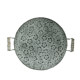 Retro gardening circular iron storage tray tray tray bread plate photography props Home Decoration