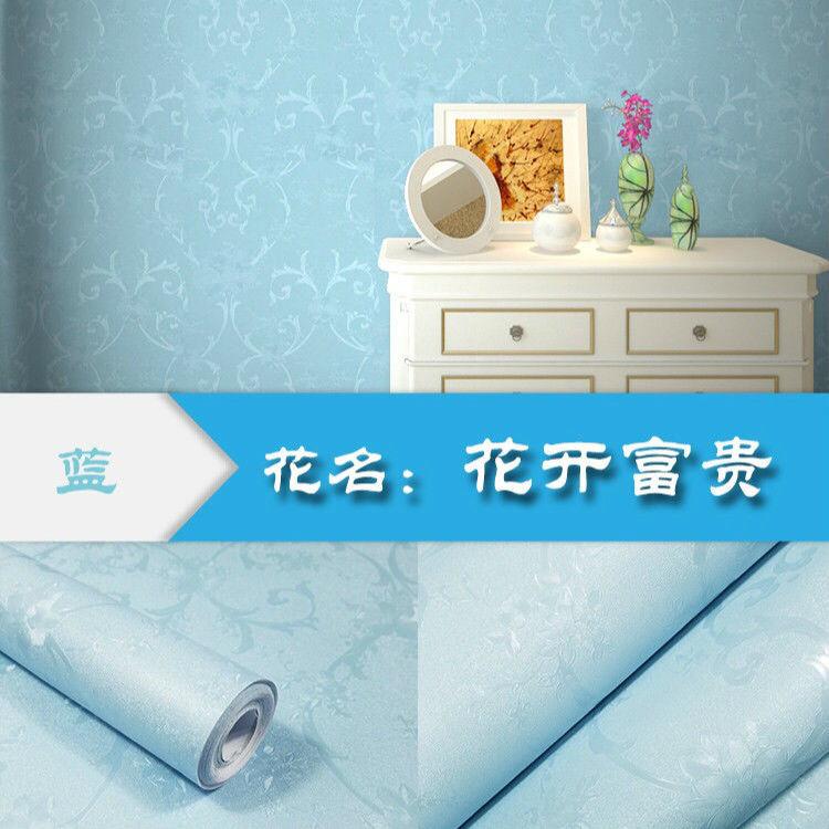 防水自粘墻紙背景墻客廳臥室宿舍家具衣柜翻新壁紙促銷 PVC 米 10