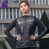 bmai will step men and women running outdoor windproof hooded sports jacket windbreaker fight training run needle shuttle