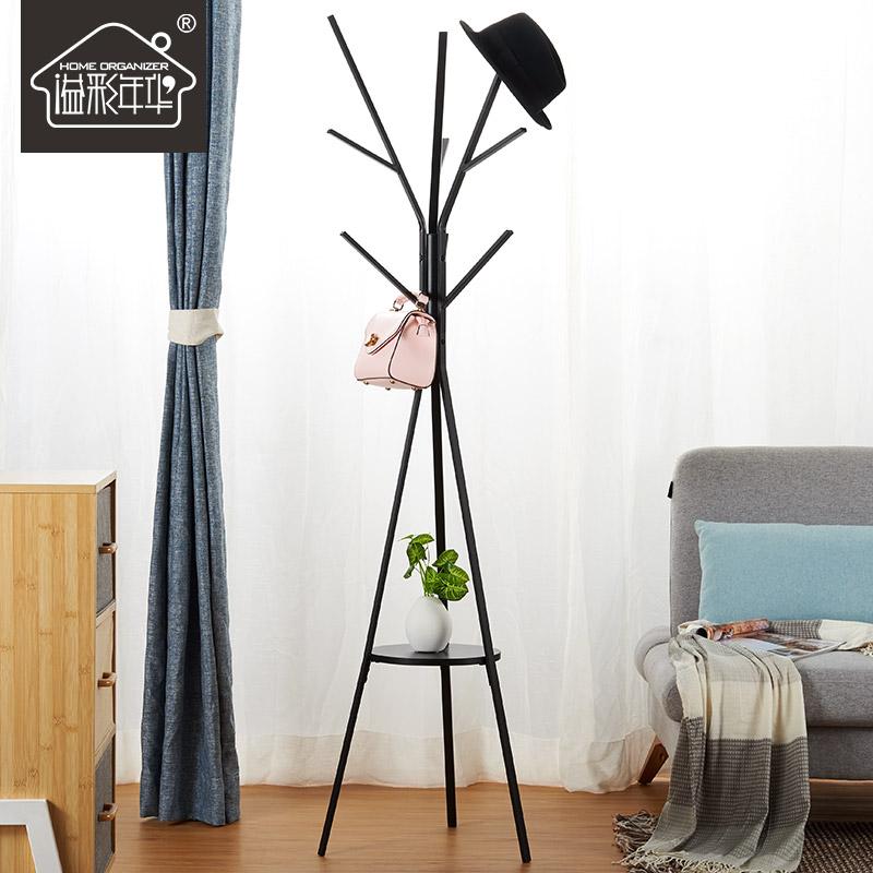 卧室内挂衣架落地铁艺金属简约北欧ins现代树枝家用创意衣帽架子