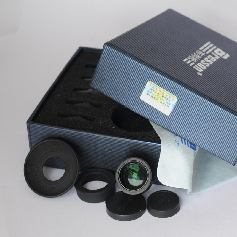 【布列松】接目镜放大器1.1-1.6倍  屈光度变倍可调节 取景放大器