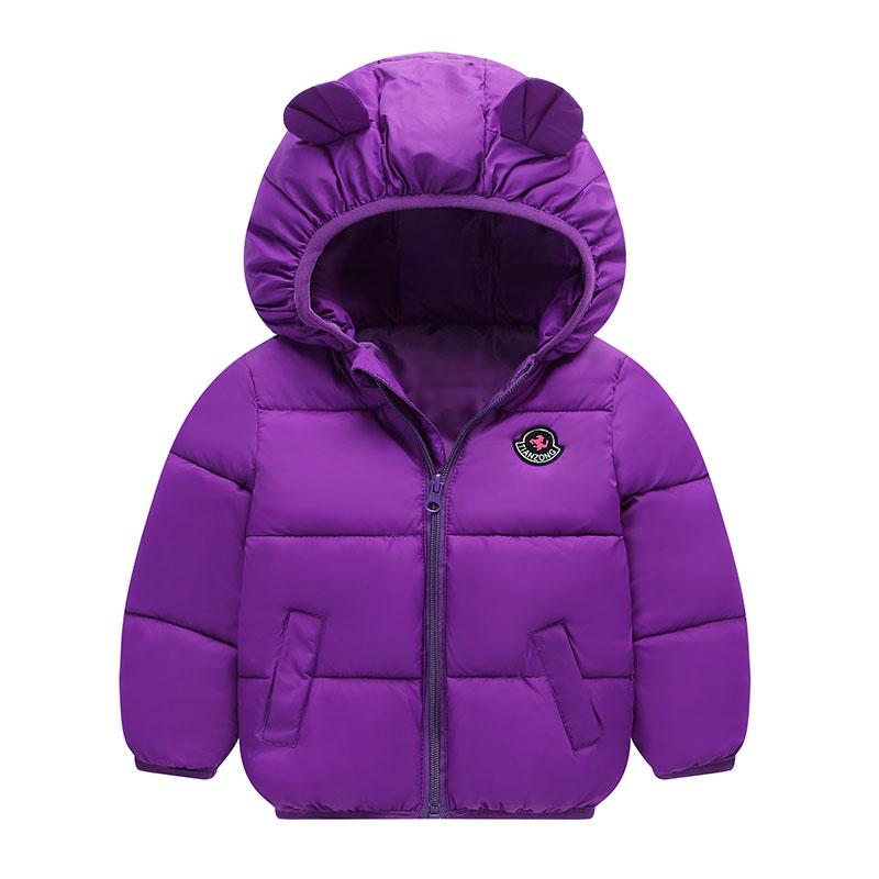 秋冬款兒童中小童羽絨棉服短款女童寶寶2018新款男童加厚棉衣外套