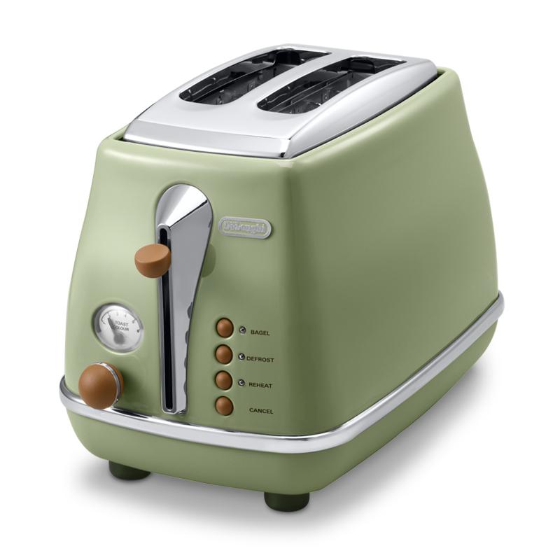 【直营】意大利德龙进口烤面包机家用全自动早餐机多士炉 2年质保