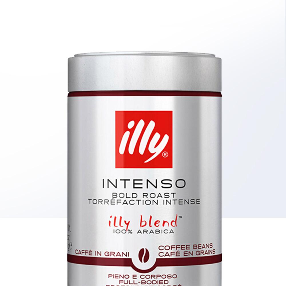 意大利进口,100%阿拉比卡咖啡豆:250g Illy意利 深度烘培咖啡豆