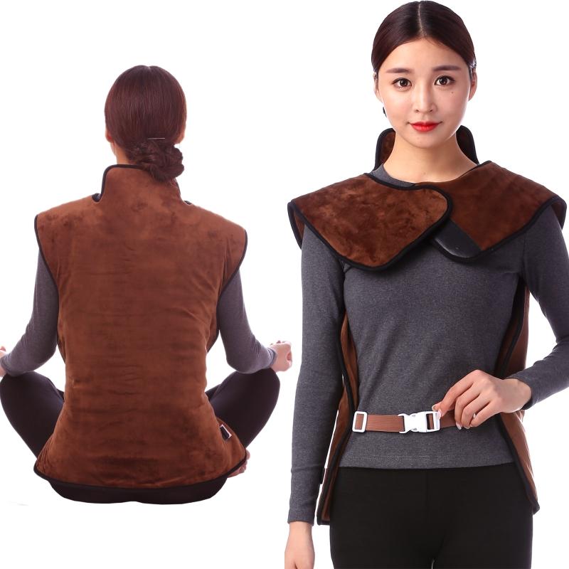 锦琳加热电披肩护肩膀痛坎肩护腰护背部保暖护颈艾炙原始点温敷服