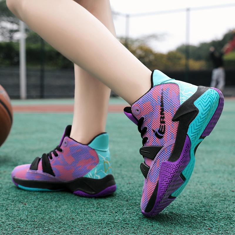 品牌折扣童鞋男童运动鞋夏季网面透气中大童篮球鞋儿童小学生防滑