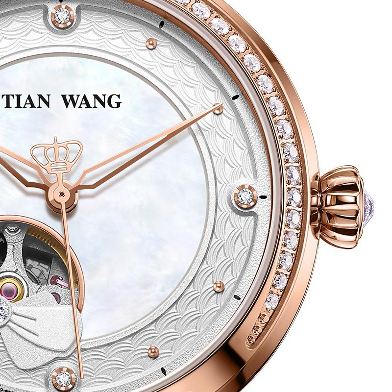 天王表官网正品专柜同款2020新品镂空机械表女表手表LS51109