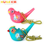 Huile 529 baby water bird music cartoon creative children's whistle playing musical instrument animal horn male and female toys