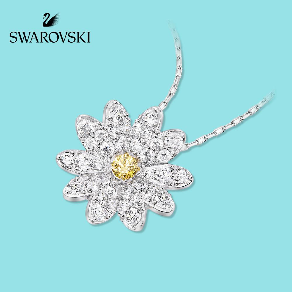 白菜价!专柜同款,2020年上新:Swarovski施华洛世奇 女士 永恒之花项链