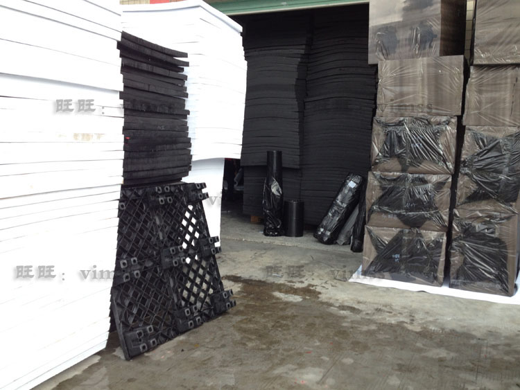 黑色永久防静电EVA泡棉沫板材包装材料 抗静电海绵防损泡棉垫