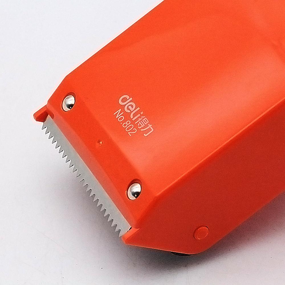 得力802封箱器6CM大号透明胶带切割器胶带机物流打包器胶布封箱机
