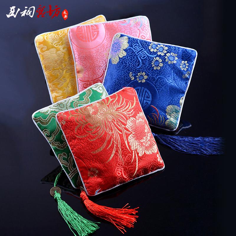 中国风蜀锦传统特色纪念礼品礼物送老外丝绸零钱包女