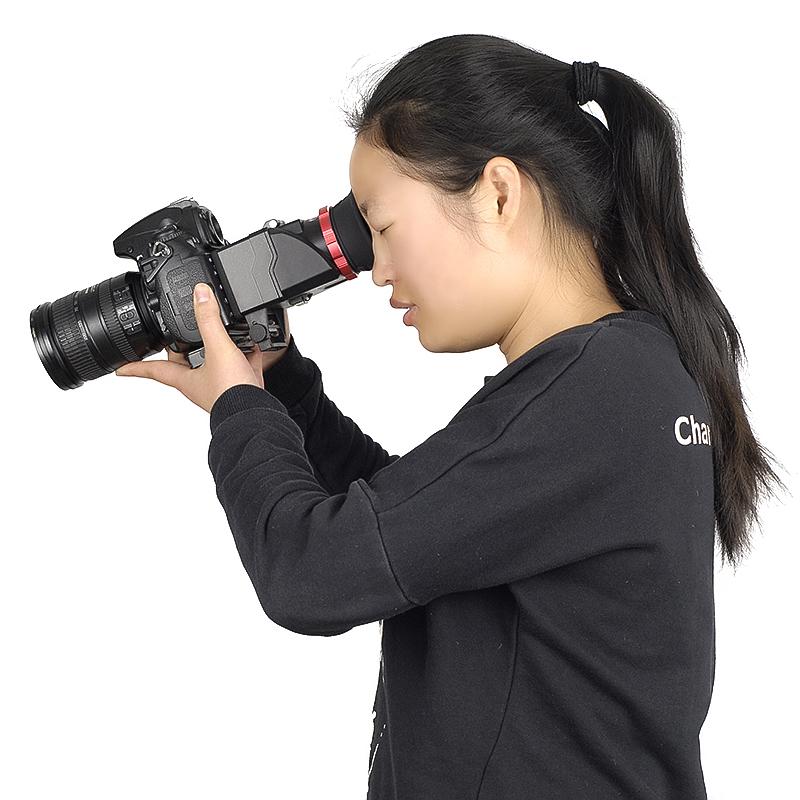 取景器S6放大器单反相机5D2 5D3 5DS D810 D750 6DII D850遮阳罩