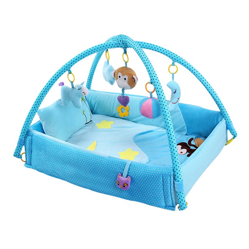 婴儿用品新生儿礼物百天宝宝满月礼盒音乐游戏毯母婴套装0-36个月