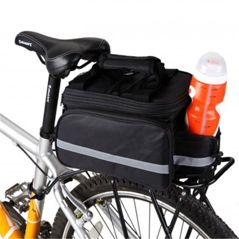 自行車馱包山地車大容量騎行包防水後貨架包後座尾包車架駝包裝備