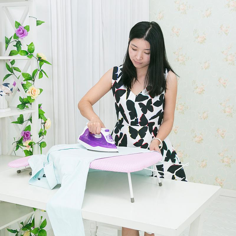 迷你烫衣板台式熨衣板家用折叠熨斗板烫衣服熨衣垫小号电熨斗烫凳