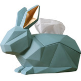 Nordic geometric rabbit creative tissue box box paper napkin modern minimalist living room decoration desktop storage box
