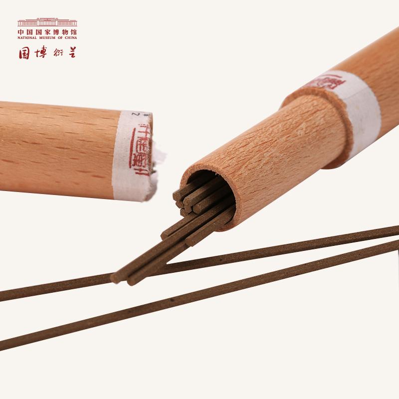 中国国家博物馆香道大师古法研制天然芳香原料线香沉香檀香家用