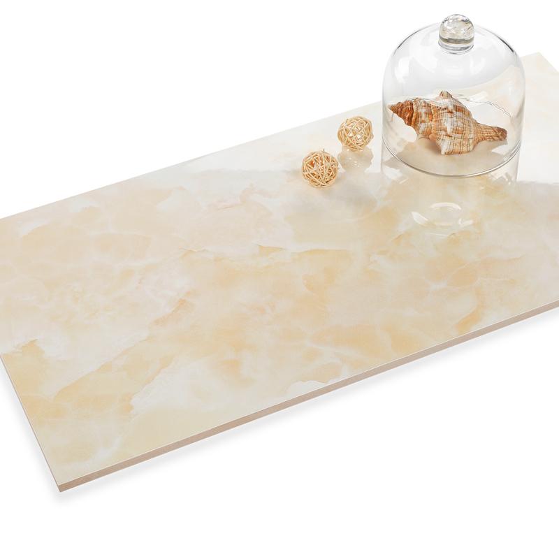 新中源洗手间瓷砖地砖六角花片卫生间墙面砖300x600厨卫瓷砖60150