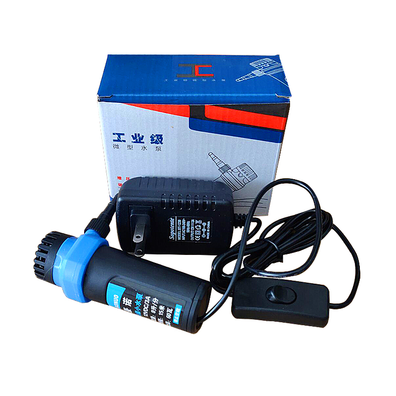 12V微型直流潜水泵吸水小型电动水泵开槽机水钻切割机专用潜水泵