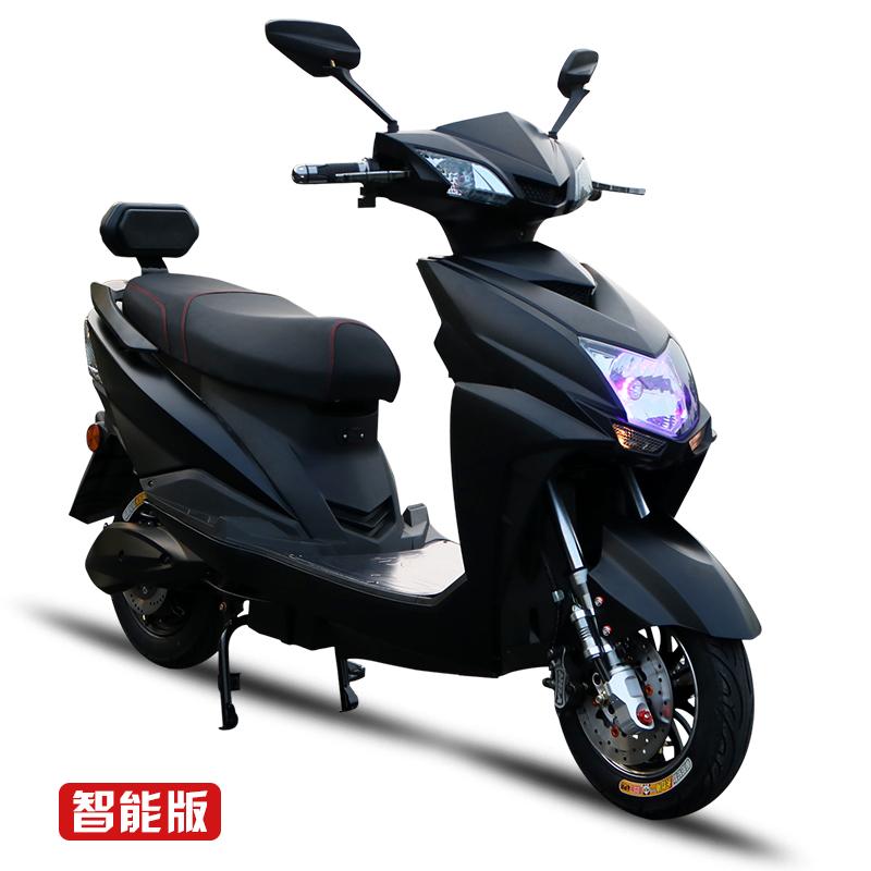 尚领电动车迅鹰电动摩托车60V72V小龟王鬼火智能电瓶车成人踏板车
