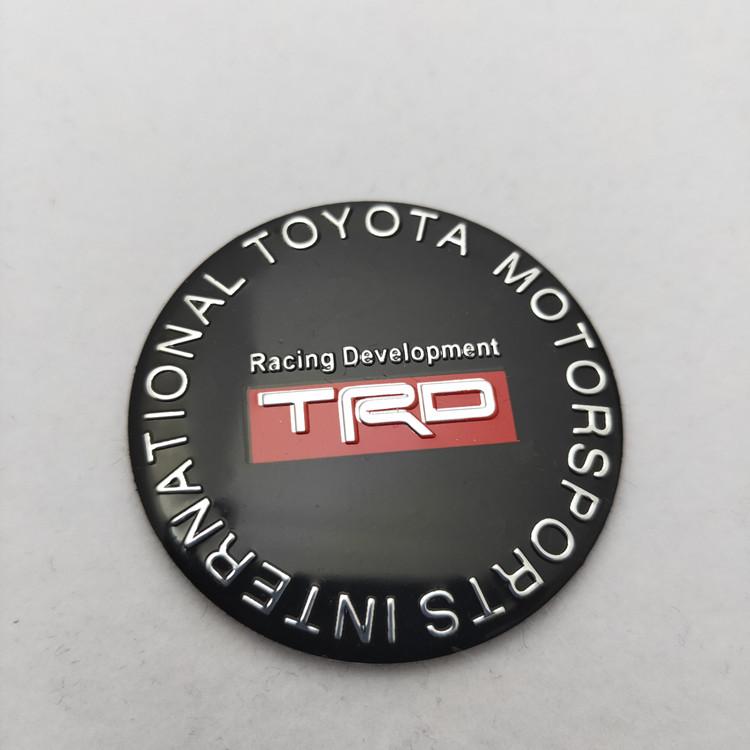 包邮改装轮毂中心盖贴标 汽车轮盖标志 贴标45MM 轮毂盖标一套4个