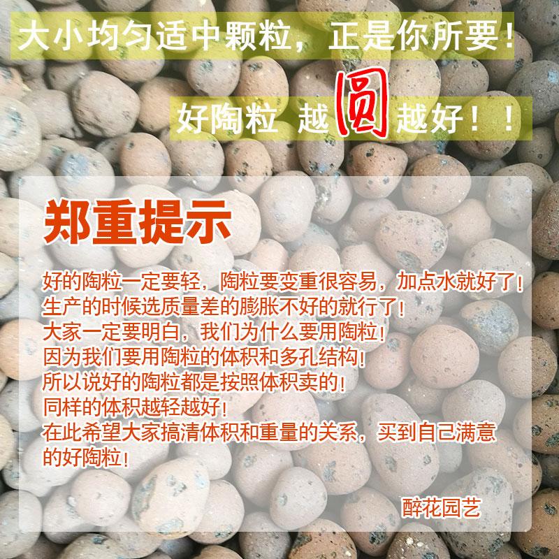陶粒多肉垫底铺面花卉盆栽种植小陶粒土园艺轻质陶粒花用垫底陶粒