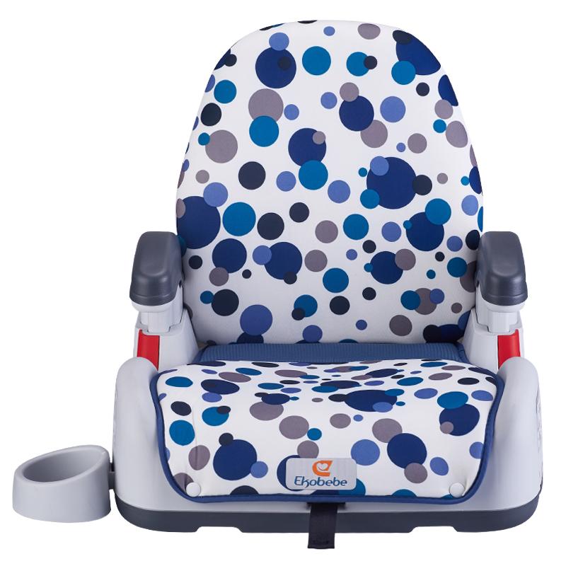 硬接口 isofix 岁车载简易便携汽车坐垫 12 3 怡戈儿童安全座椅增高垫