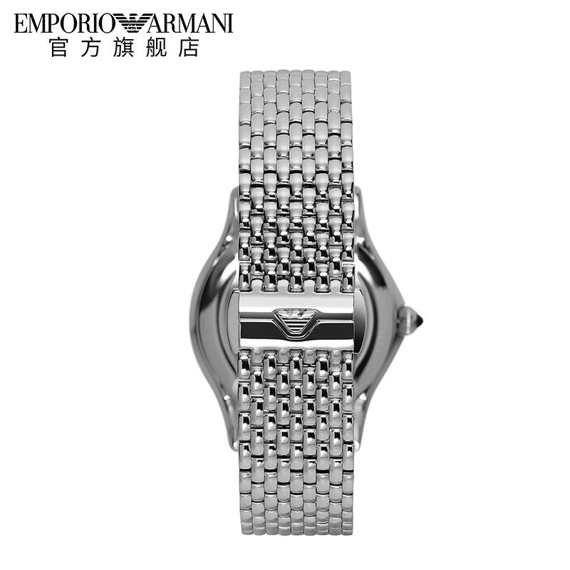 Armani阿玛尼星空摩天轮手表女细带小巧 气质镶钻瑞士手表ARS7507