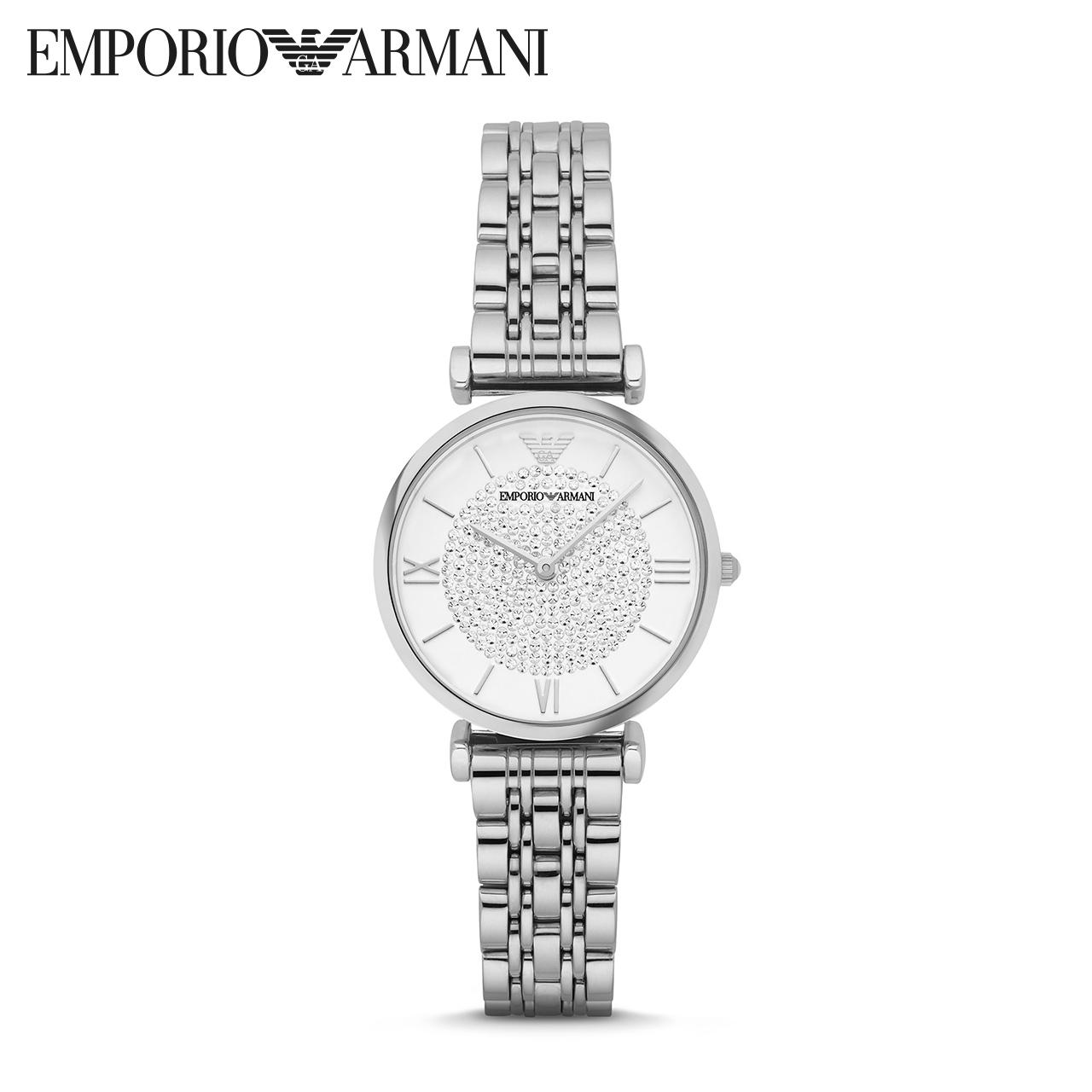 Armani阿玛尼满天星手表女款奢华璀璨星空正品石英表女品牌AR1925