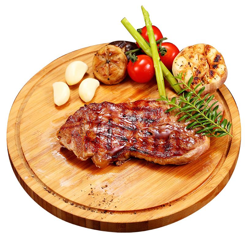 菲力牛排黑椒新鲜原切牛肉10片装家用整切特级进口儿童牛扒套餐