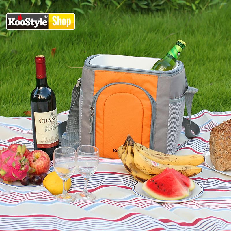 烤食代便携野餐包保温包加厚烧烤用品野炊餐具套装户外装备套装