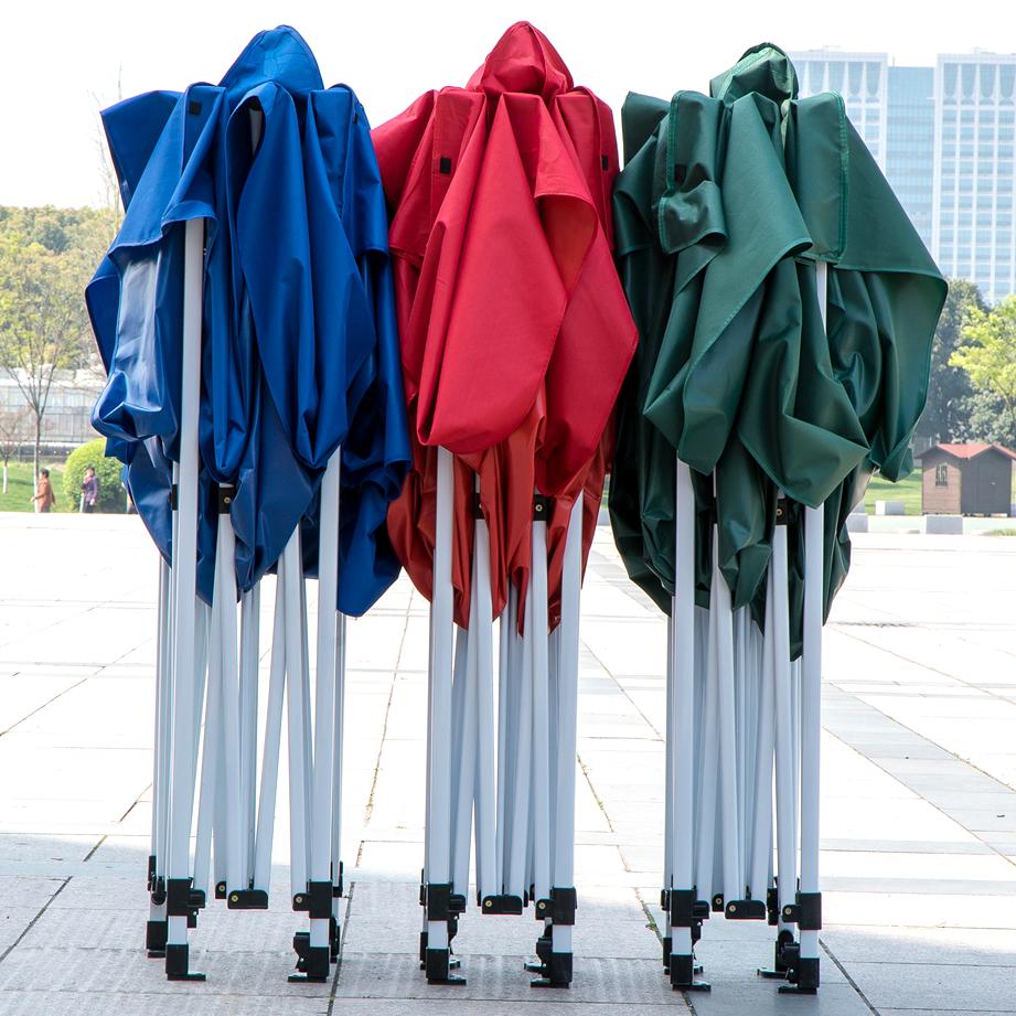 户外广告帐篷遮阳棚大伞摆摊雨棚子伸缩折叠停车印刷印字四脚防晒