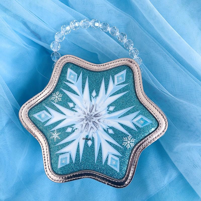 冰雪奇缘2公主配饰爱莎发箍皇冠魔法棒项链套装艾莎包包假发辫子