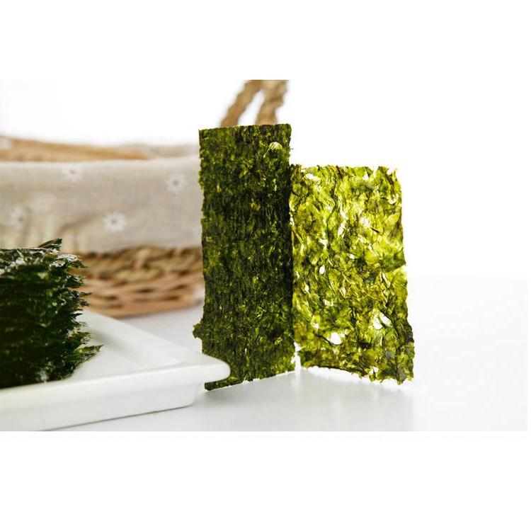 韩国进口托马斯海苔儿童即食紫菜包饭寿司海苔大片装海苔碎海苔