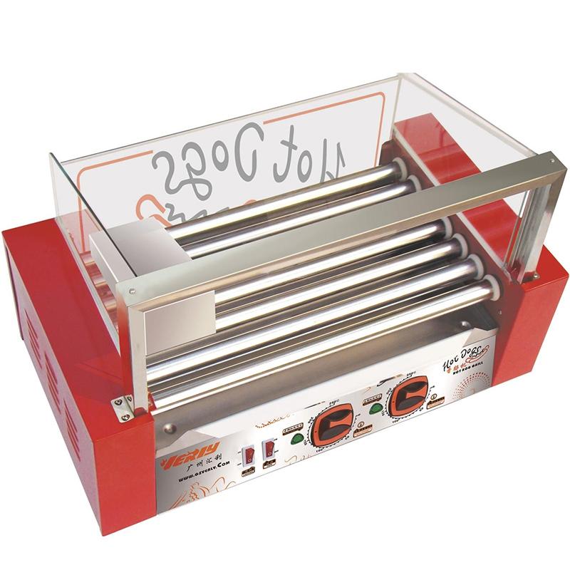 无门台湾火山石烤肠机热狗机 商用家用小型一人烤香肠机宿舍1人