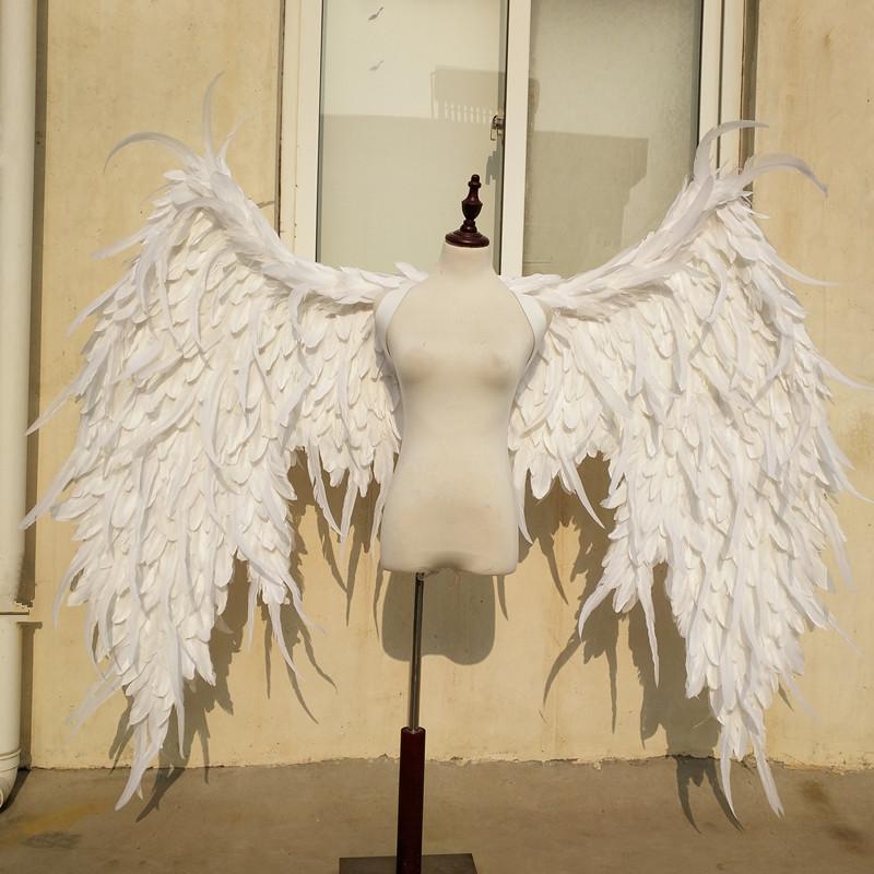 维密天使翅膀 COSplay动漫演出模特走秀摄影创作二次元羽毛翅膀