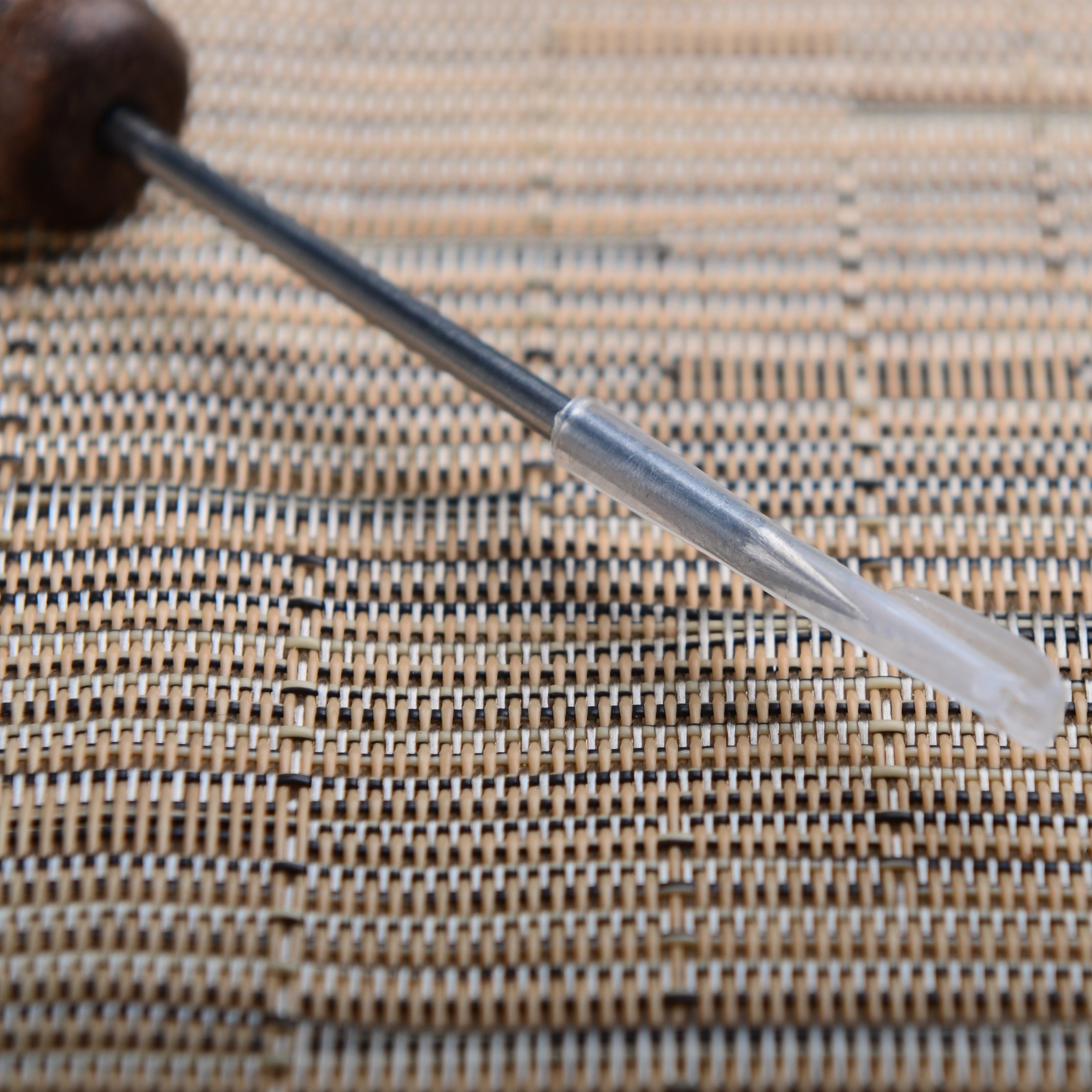 特價黑檀木花梨木紅木 茶針普洱茶錐 茶刀 茶道配件精鋼撬茶專用