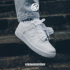 Nike/Nike Air Force 1 AF1 high and low to help Air Force One men's and women's pure white sports shoes 315122