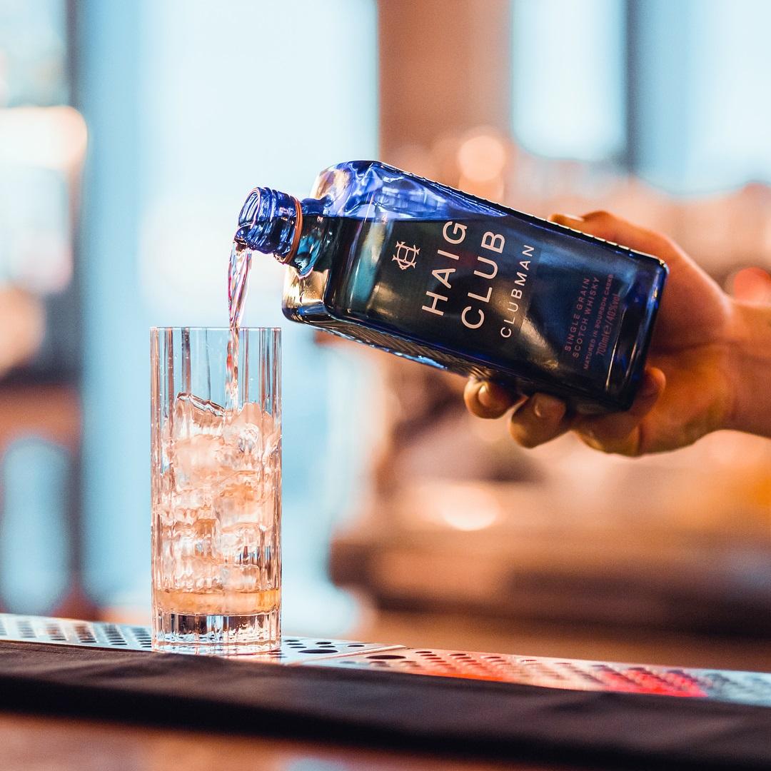 单瓶原装进口洋酒包邮 700ml 单一谷物威士忌酒 翰格蓝爵 Club Haig