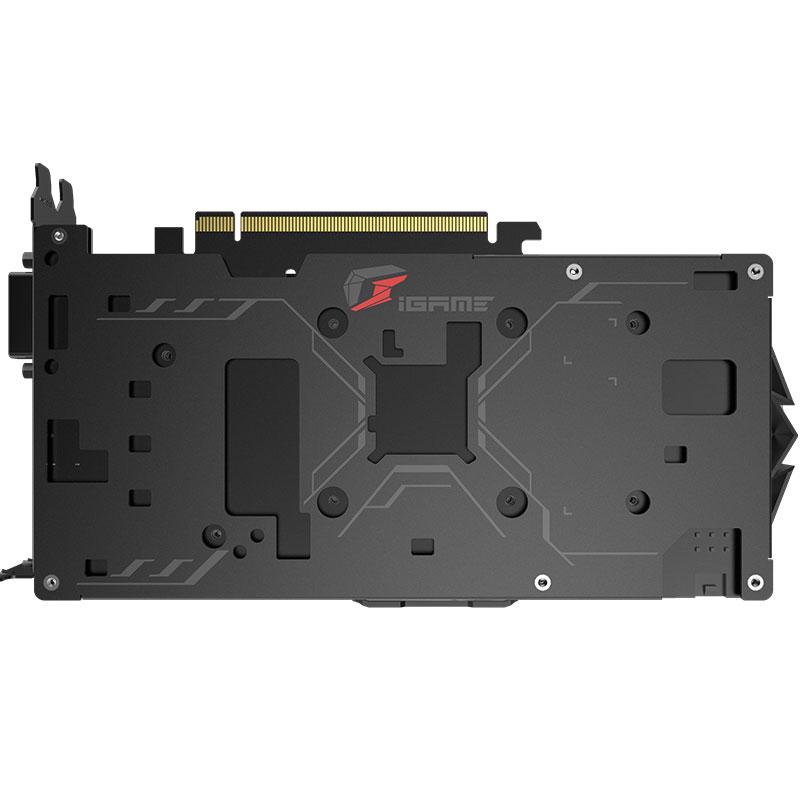 七彩虹iGame GTX1050Ti 烈焰战神U-4GD5游戏独立显卡 台式电脑主机箱吃鸡显卡 免费升级1650图灵显卡