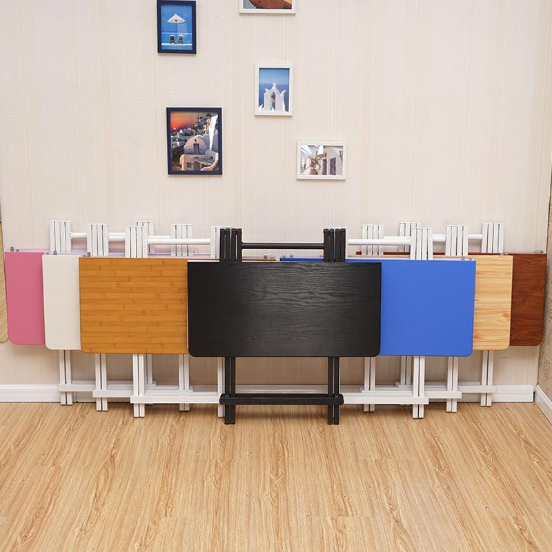 桌子折疊餐桌家用小方桌吃飯桌便攜式擺攤桌戶外折疊桌椅簡易小桌
