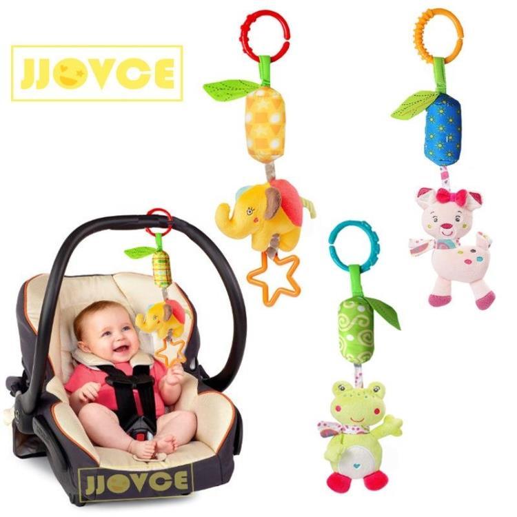 美国新生儿婴儿床挂玩偶床绕车绕拉铃风铃01-2岁宝宝益智早教玩具