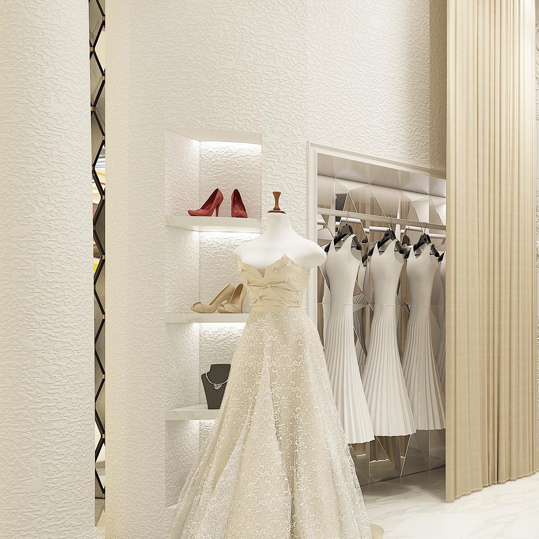 北欧纯白色颗粒纹壁纸纯色素色客厅卧室拍摄背景服装店墙纸满铺