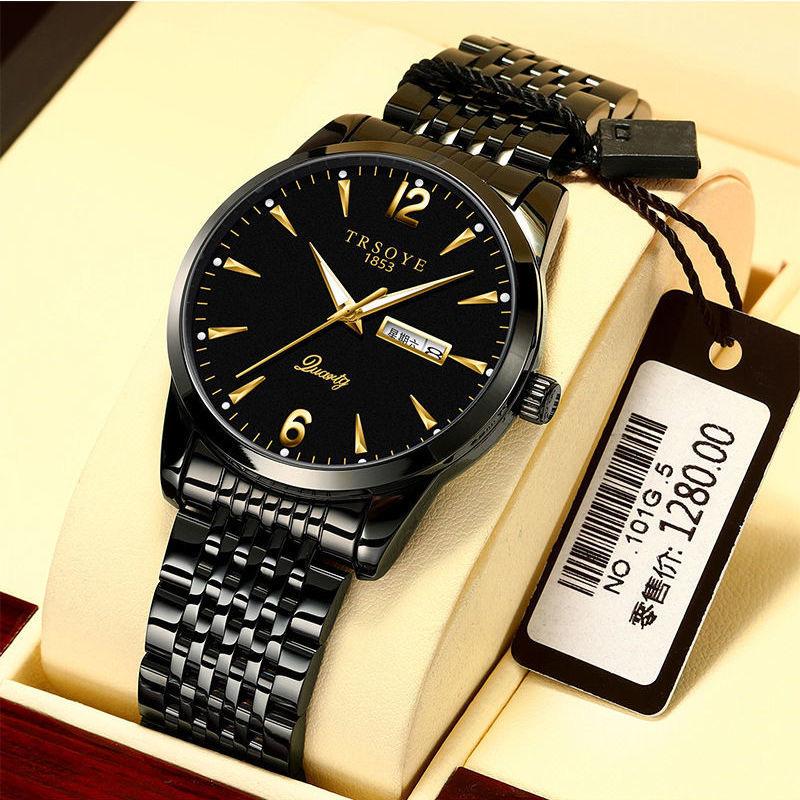 瑞士名表正品十大品牌手表男士全自动机械表超薄防水夜光商务腕表